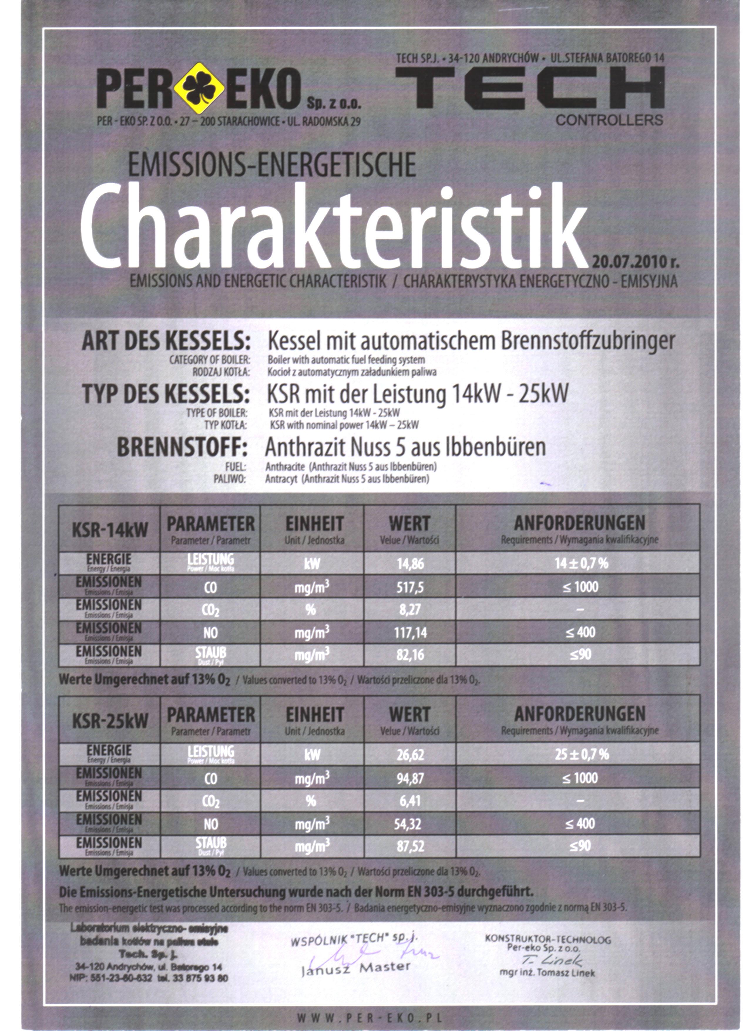 Feuerungstechnik Reichert - Per Eko KSR 14KW